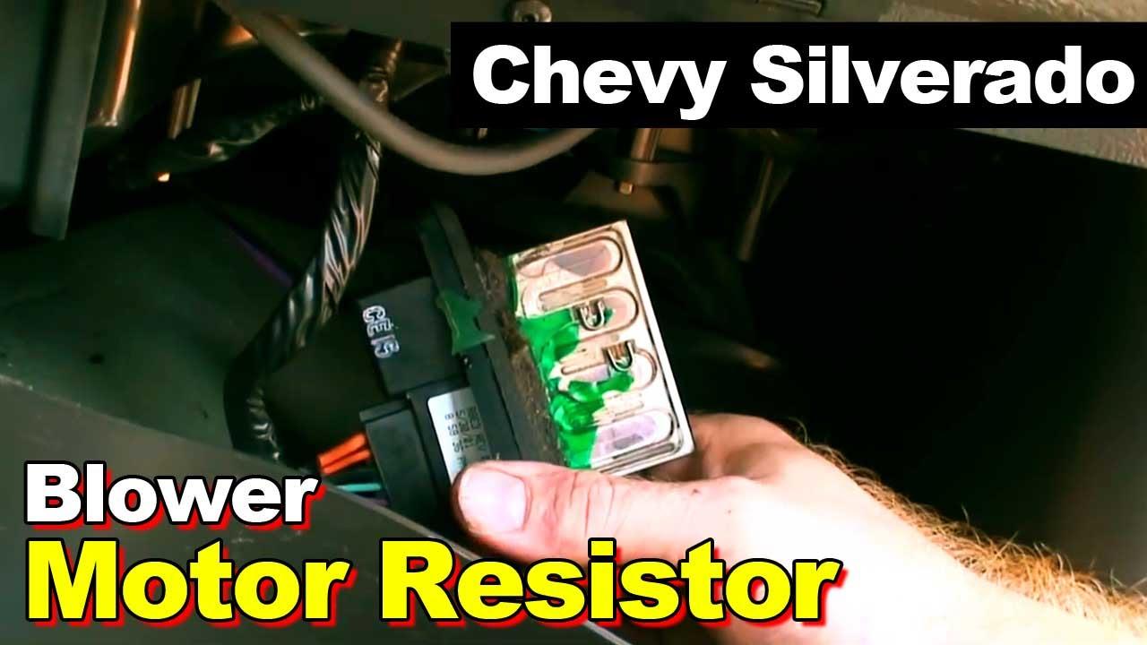 2005 Chevy Silverado Blower Motor Resistor Wiring Diagram