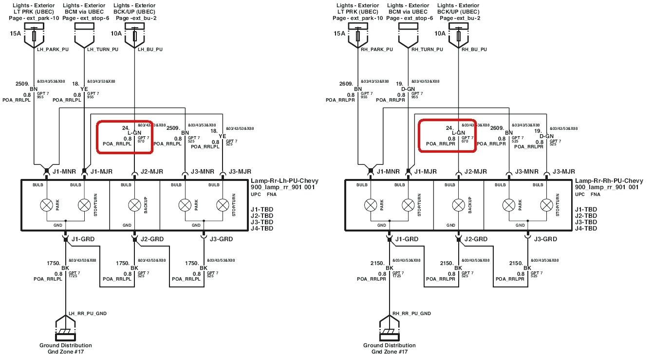 Chevy Colorado Tail Light Wiring Diagram Can A | Wiring Diagram - 2004 Chevy Silverado Trailer Wiring Diagram
