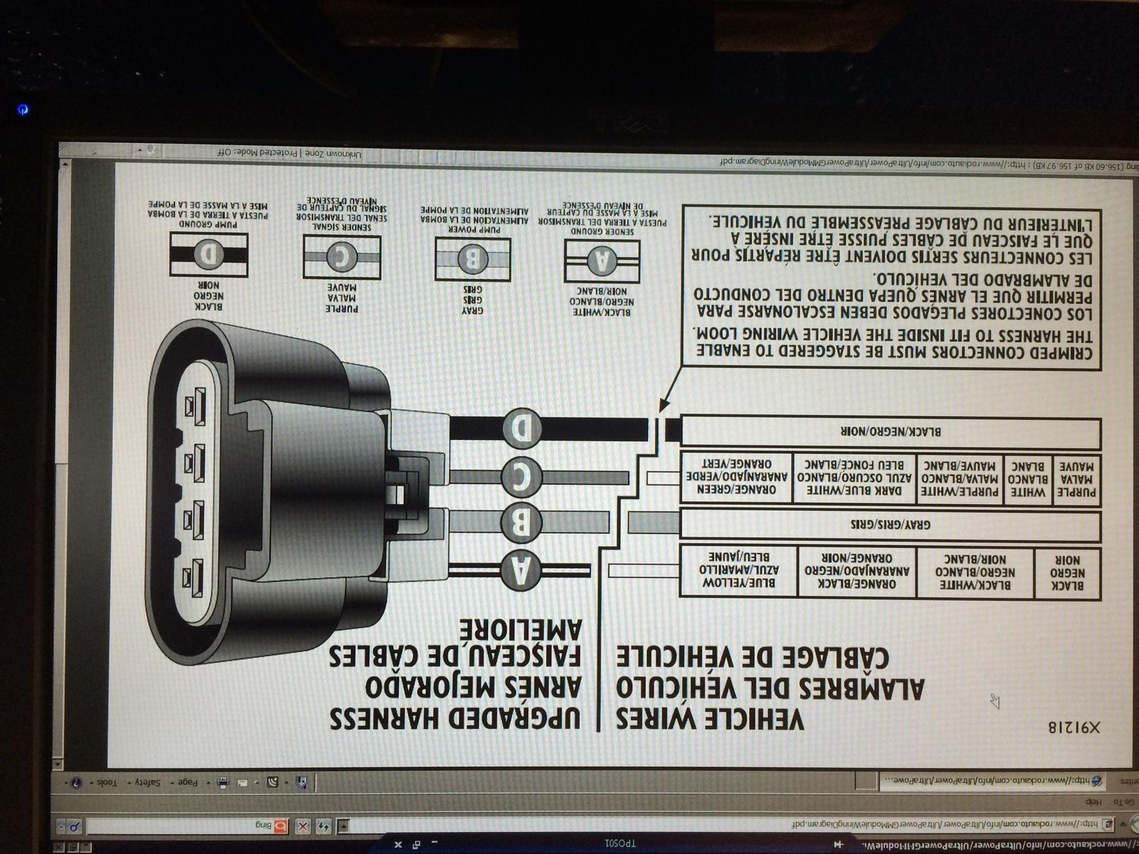 Chevy Fuel Pump Wiring Diagram - Wiring Diagrams Hubs - Fuel Pump Wiring Harness Diagram