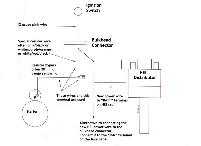 Chevy Hei Conversion Wiring - Wiring Diagram Data - Hei Conversion Wiring Diagram