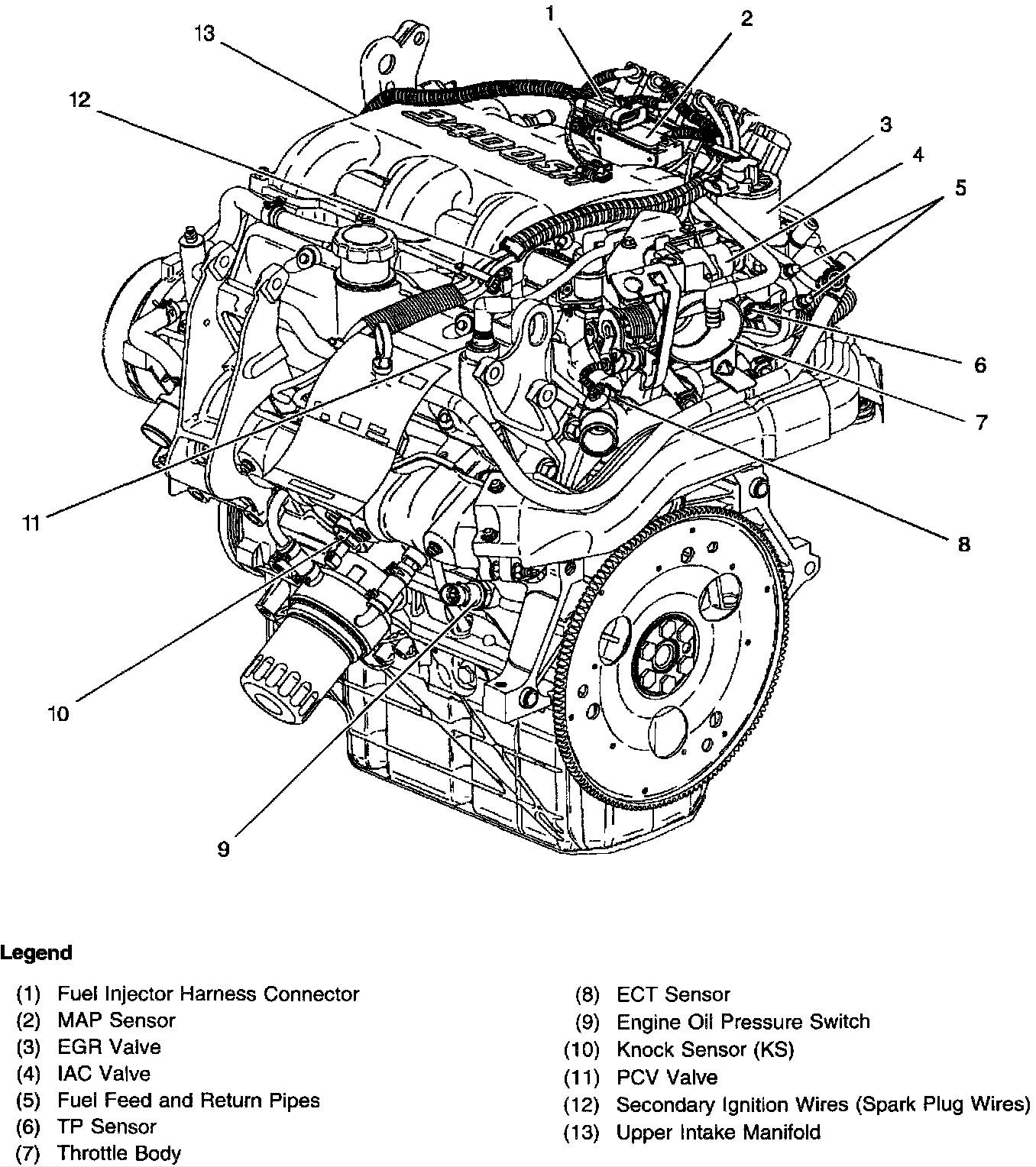 Chevy V6 Vortec Engine Diagram | Wiring Library - Spark Plug Wiring Diagram Chevy 4.3 V6