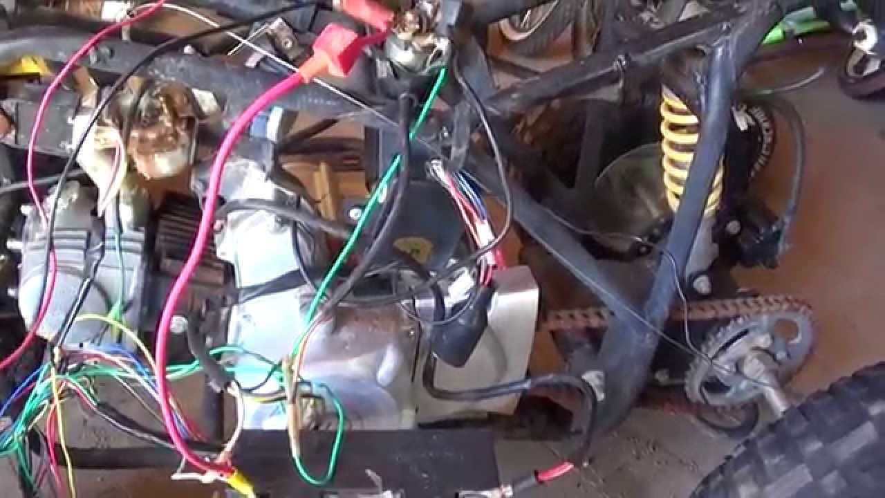 110cc Chinese Atv Wiring Diagram