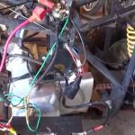 Chinese Quad 110 Cc Wiring Nightmare   Youtube   Chinese 4 Wheeler Wiring Diagram