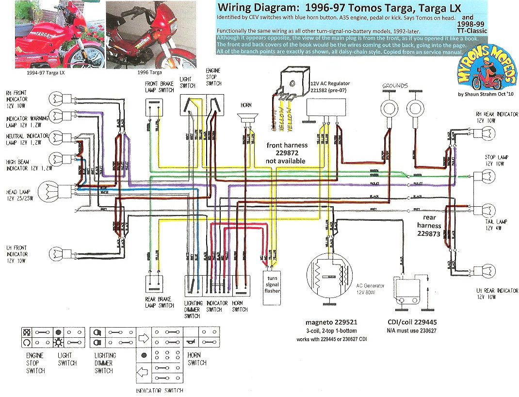 Chinese Scooter Wiring Diagram 2002 Pontiac Sunfire Wiring Schematic Bege Wiring Diagram