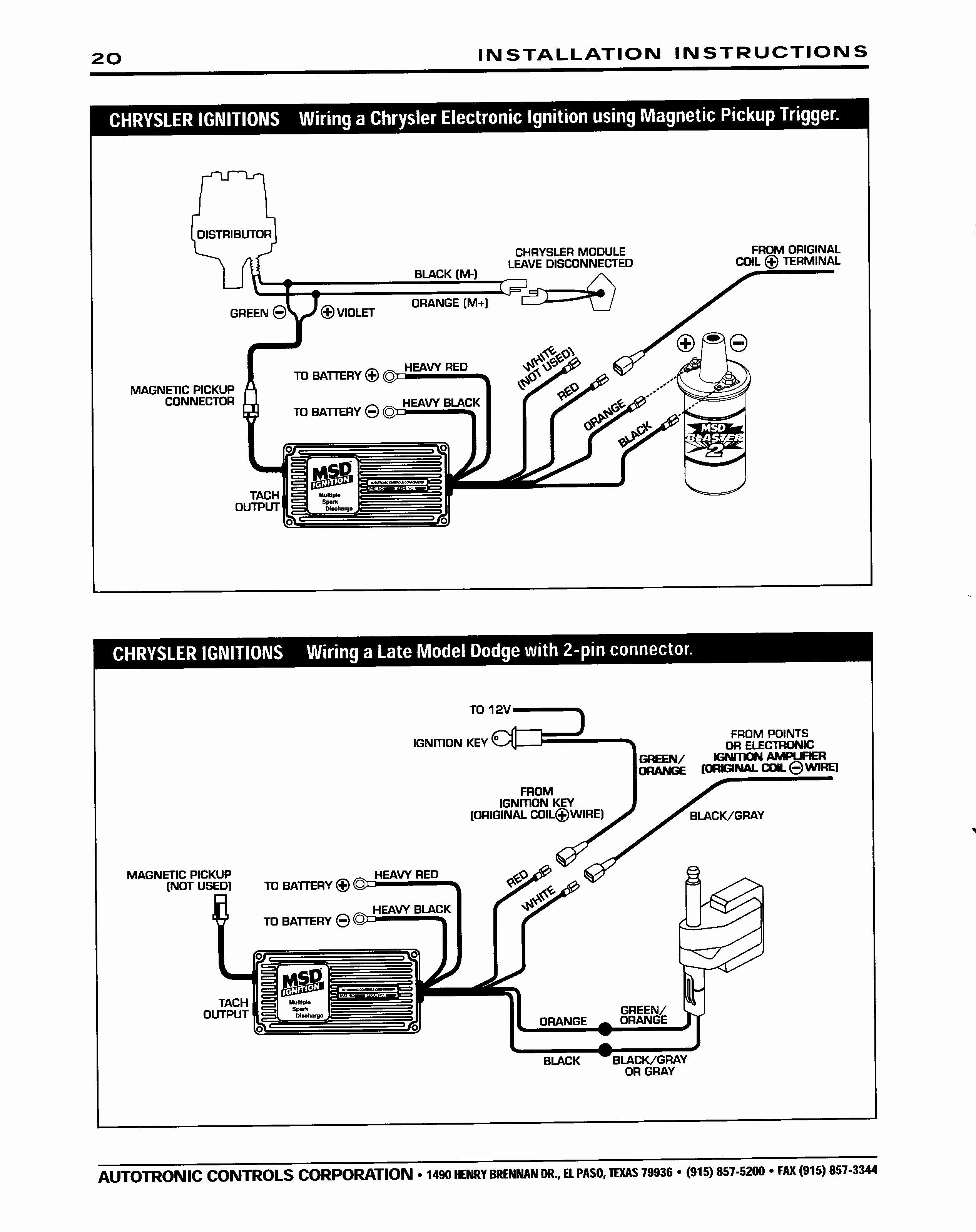 Mopar Electronic Ignition Wiring Diagram