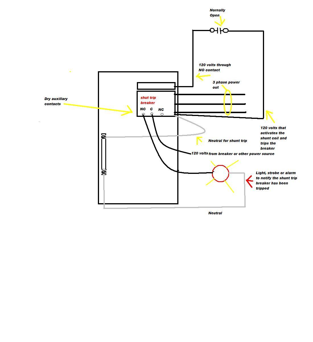 Circuit Breaker Shunt Trip Wiring Diagram Library New   Msyc Switch - Shunt Trip Breaker Wiring Diagram