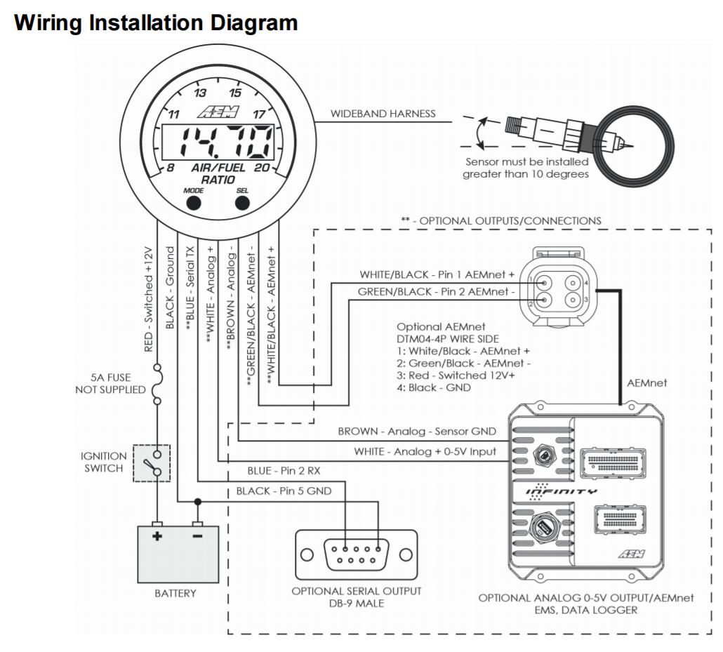 Civic Aem Wideband Wiring Diagram   Wiring Diagram - Aem Wideband Wiring Diagram