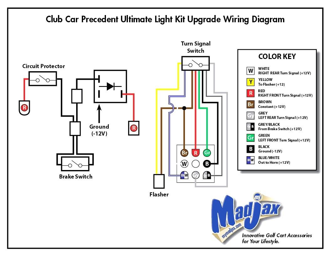 Club Car Brake Light Wiring Diagram   Wiring Diagram - Third Brake Light Wiring Diagram