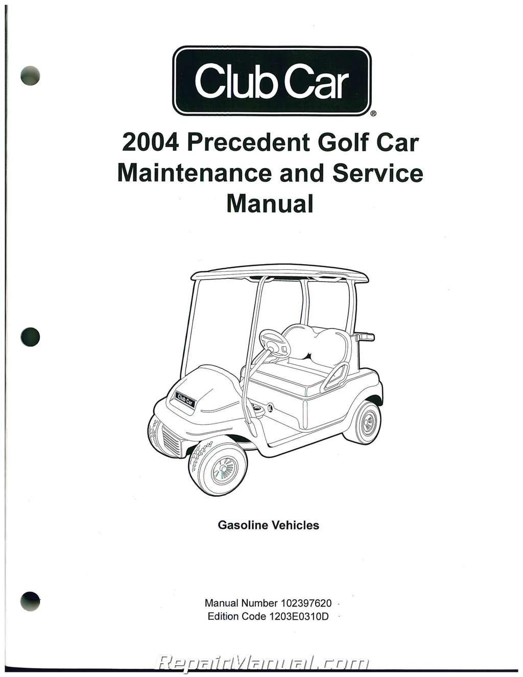 Club Car Precedent Golf Cart Wiring Diagram | Wiring Diagram - Club Car Wiring Diagram Gas