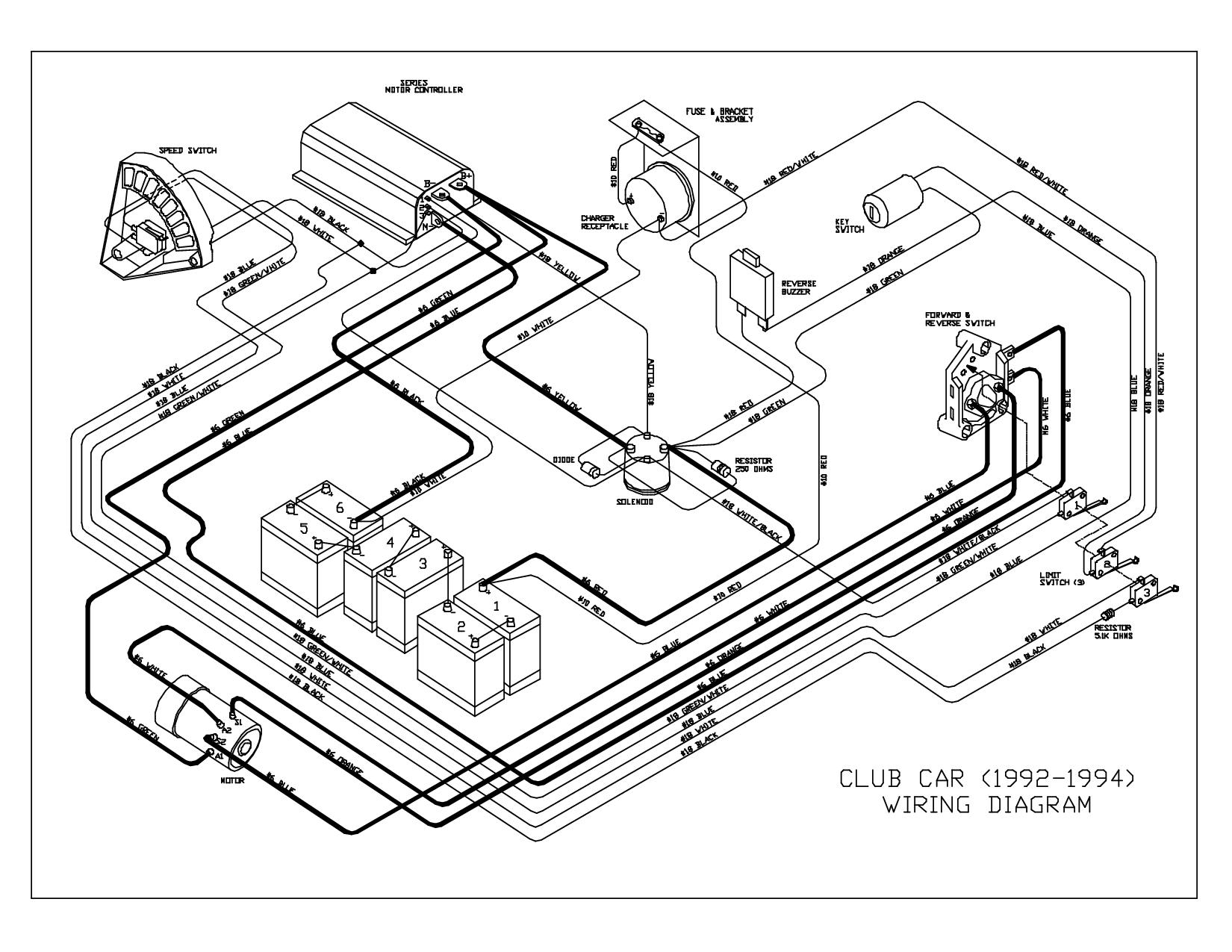 Club Car Wiring Diagram 36 Volt 5A247521D8047 And 91 At Club Car - 36 Volt Golf Cart Wiring Diagram