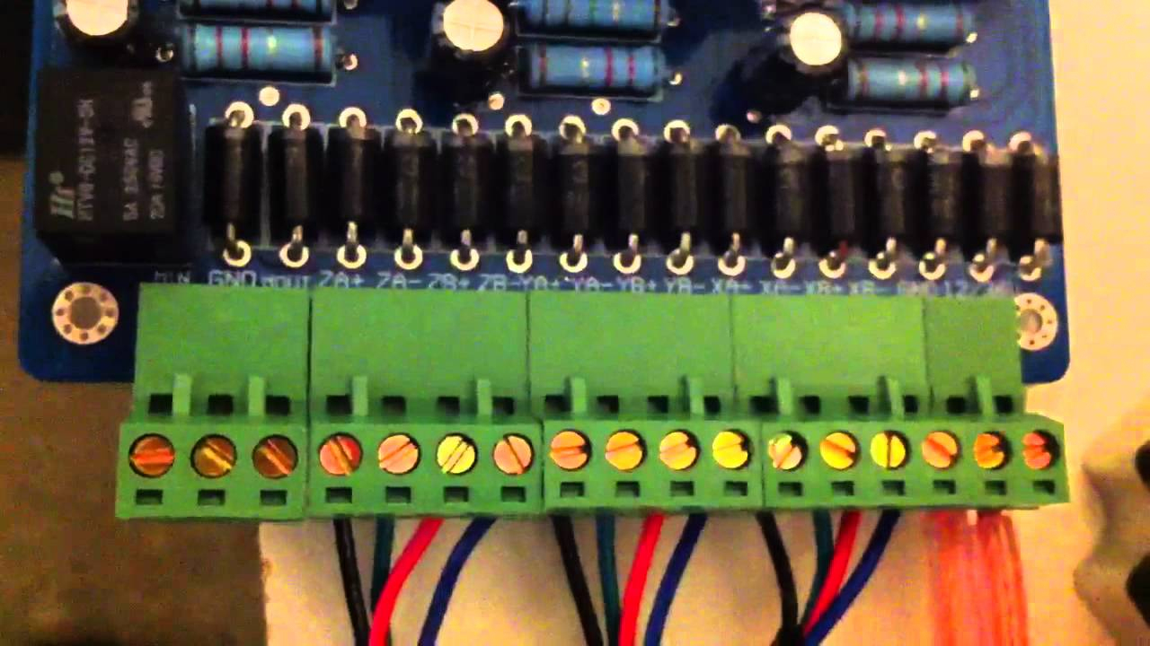 Cnc 3 Axis Stepper Motor Wiring Of A Tb6560 Controller - Youtube - Tb6560 Wiring Diagram