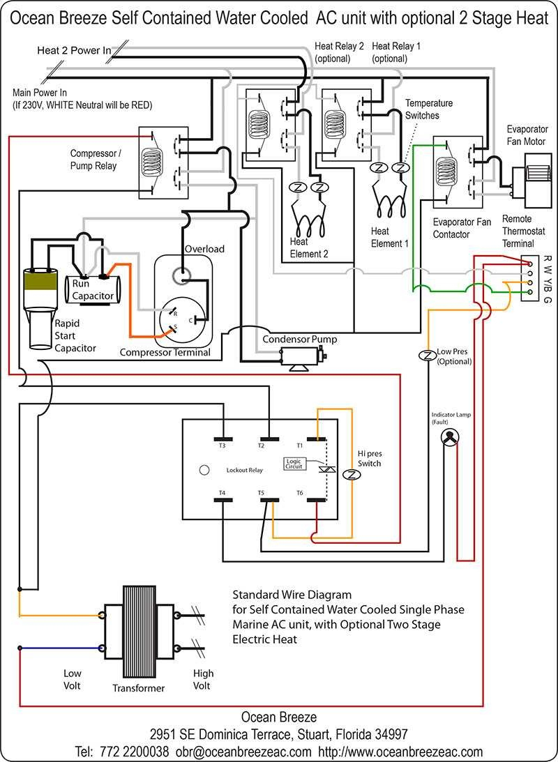 Coleman Mach Thermostat Wiring - All Wiring Diagram Data - Rv Thermostat Wiring Diagram