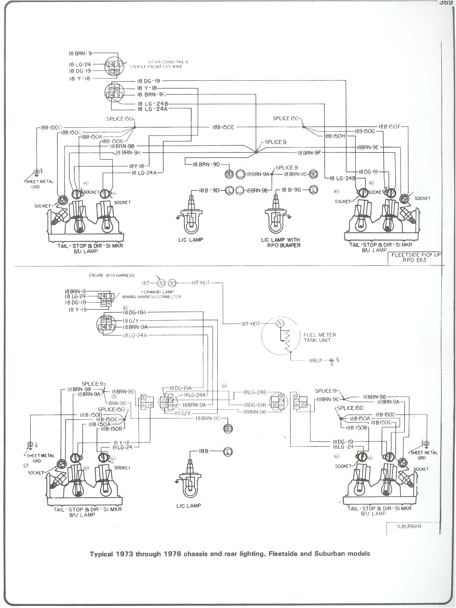 Complete 73-87 Wiring Diagrams - Starter Wiring Diagram