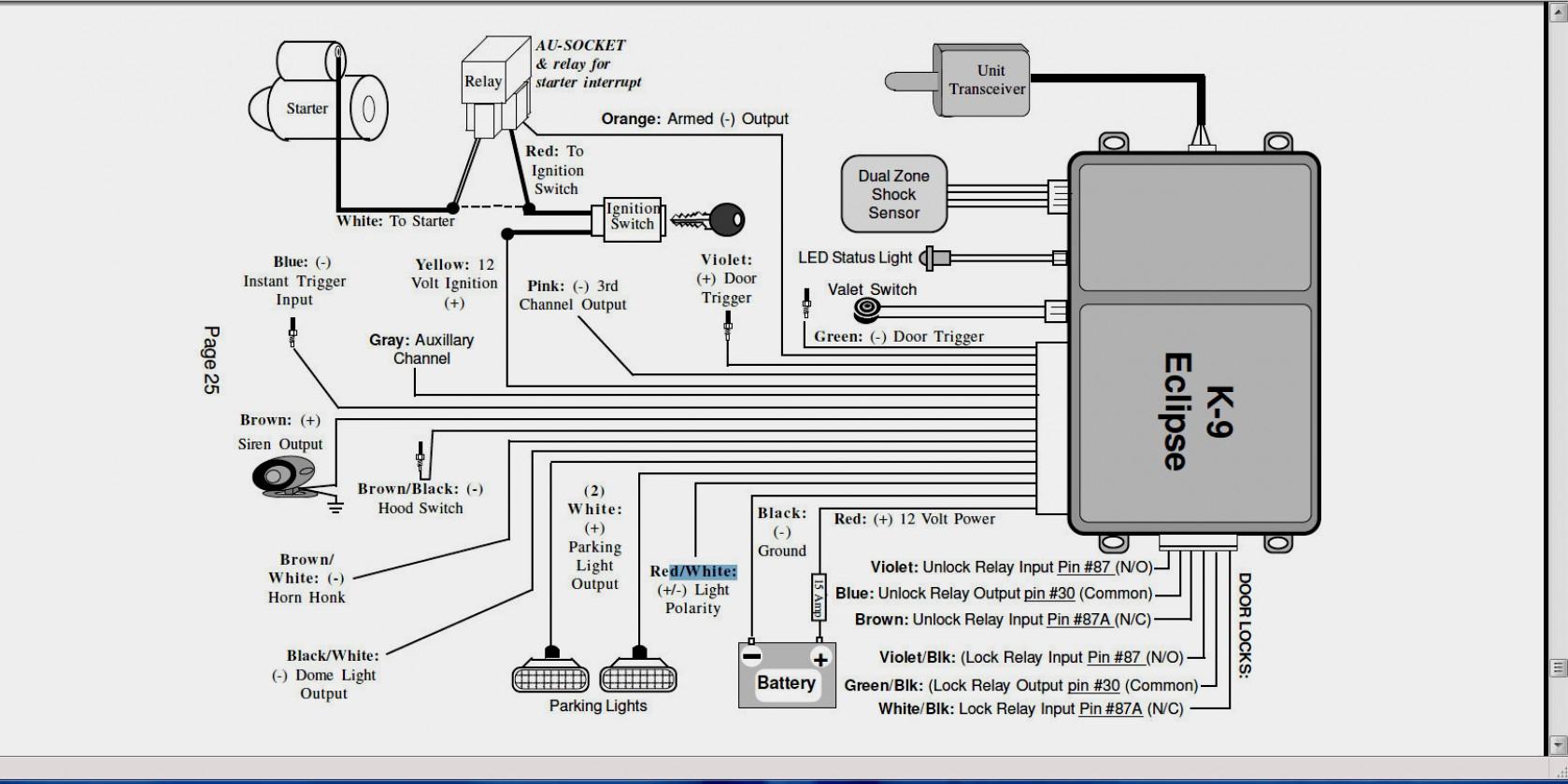 Compustar Wiring Diagram - Wiring Diagrams - Viper Remote Start Wiring Diagram