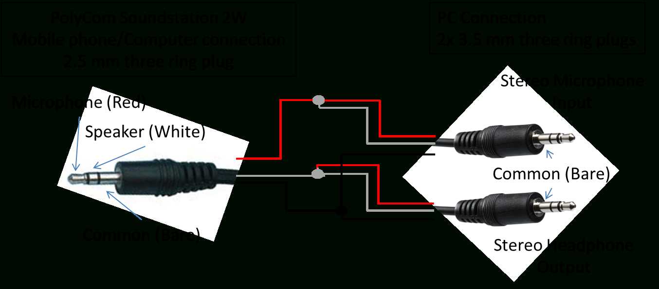 4 Pole Headphone Jack Wiring Diagram