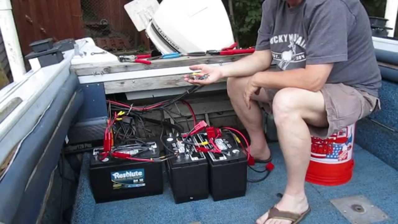 Connect Ease. 24V Trolling Motor Battery Connection Using The - 24 Volt Trolling Motor Battery Wiring Diagram