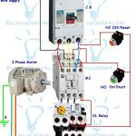 Contactor Wiring Guide For 3 Phase Motor With Circuit Breaker   3 Phase Motor Starter Wiring Diagram