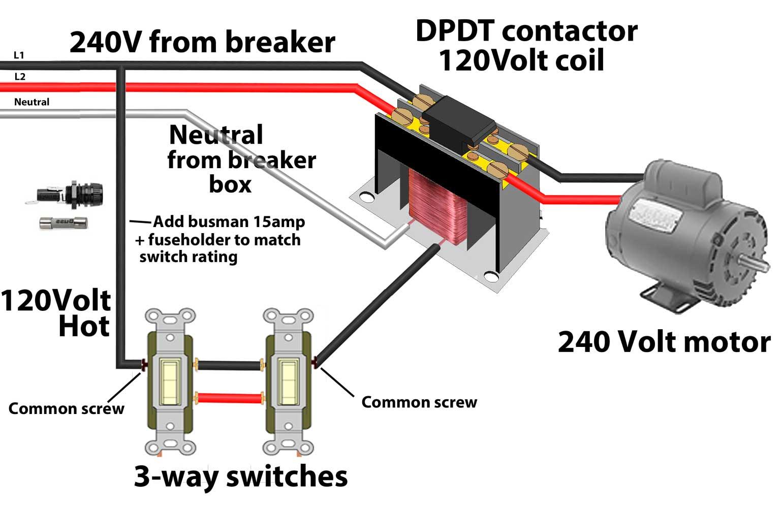 Contactors Wiring Diagram - Wiring Diagram Blog