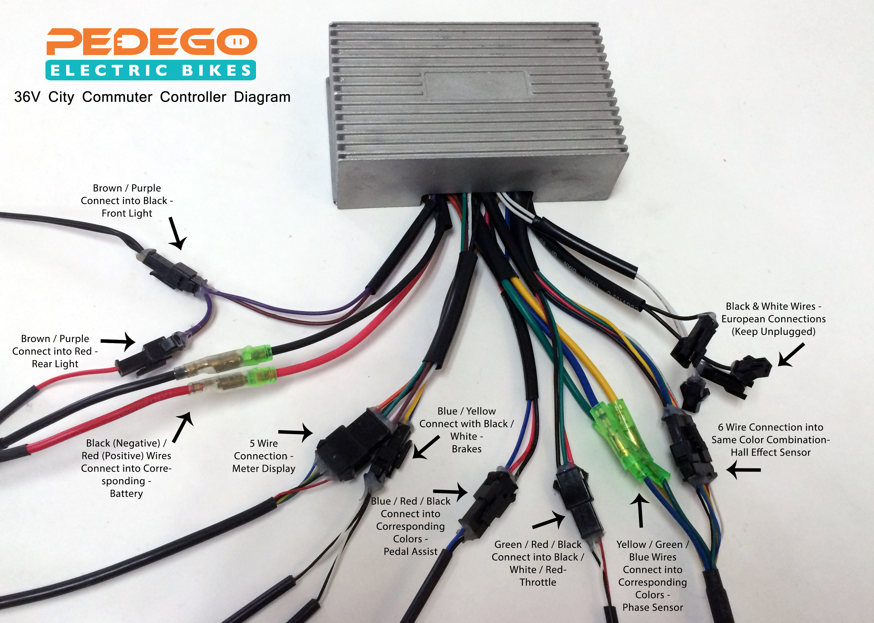 Controller Diagrams – Have A Question? - E Bike Controller Wiring Diagram