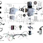 Coolster 110Cc Atv Parts Furthermore 110Cc Pit Bike Engine Diagram   Chinese 125Cc Atv Wiring Diagram