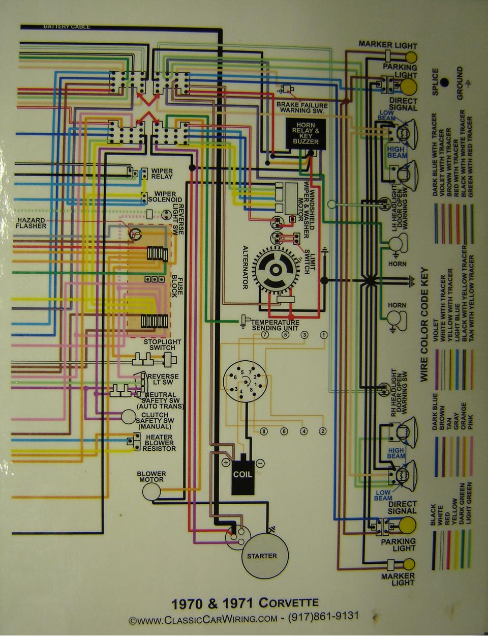 Corvette Wiring Guide - Data Wiring Diagram Schematic - Mercury Outboard Wiring Harness Diagram