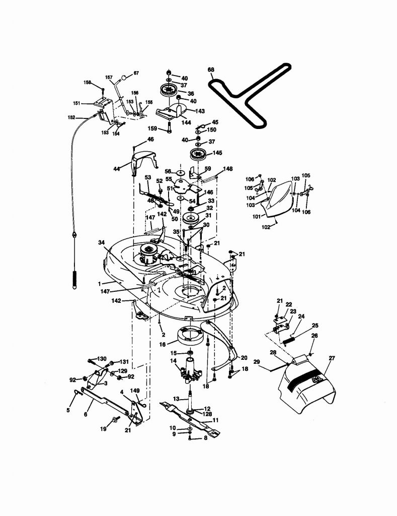 Craftsman Model 917 Wiring Diagram
