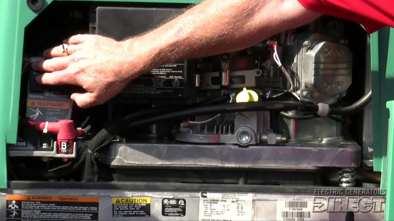 Cummins Onan Rv Generators - Featuring The Rv Qg 5500 Evap - Youtube - Onan Rv Generator Wiring Diagram