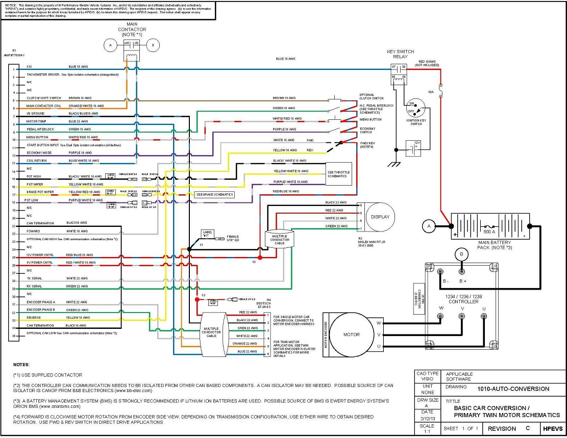 Curtis Controller Wiring Diagram | Wiring Diagram - Curtis Controller Wiring Diagram