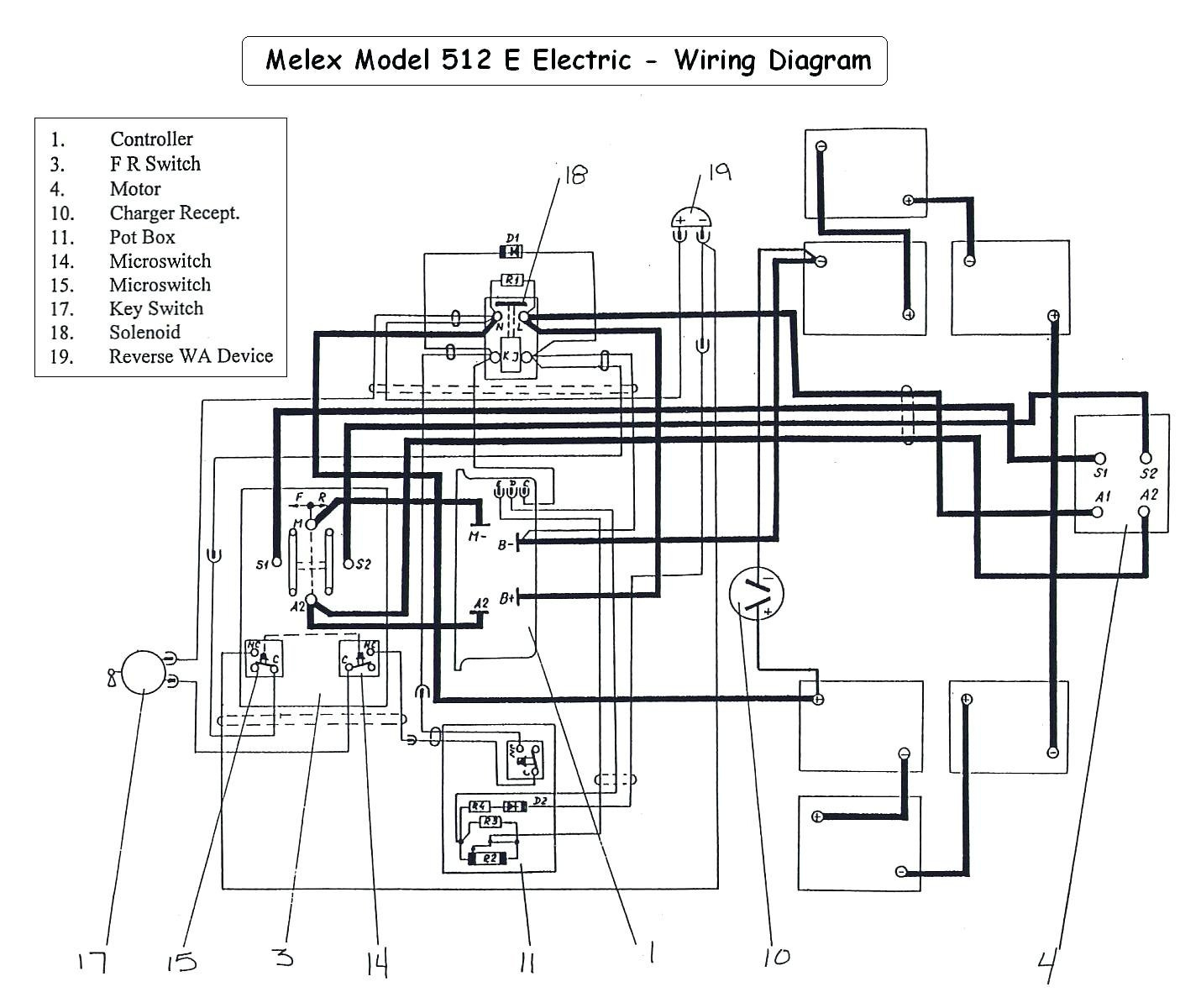 Cushman Golf Cart 36 Volt Wiring Diagram 1974 To | Wiring Library - Ez Go Golf Cart Battery Wiring Diagram