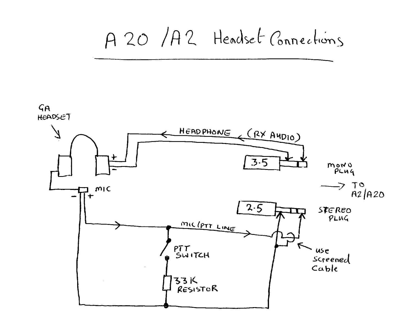 Headset With Mic Wiring Diagram from annawiringdiagram.com