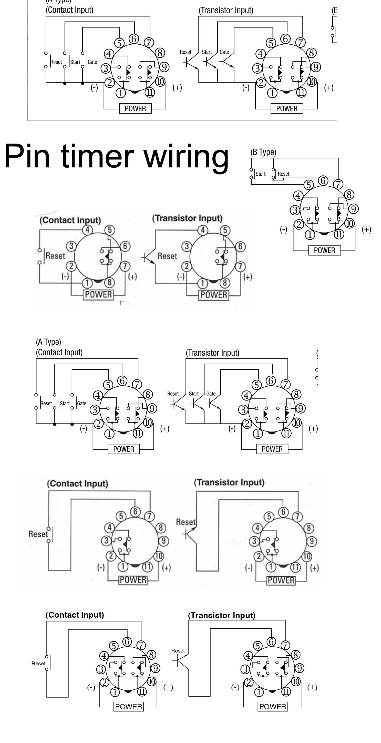 Dayton Time Delay Relay Wiring Diagram | Manual E-Books - Time Delay Relay Wiring Diagram
