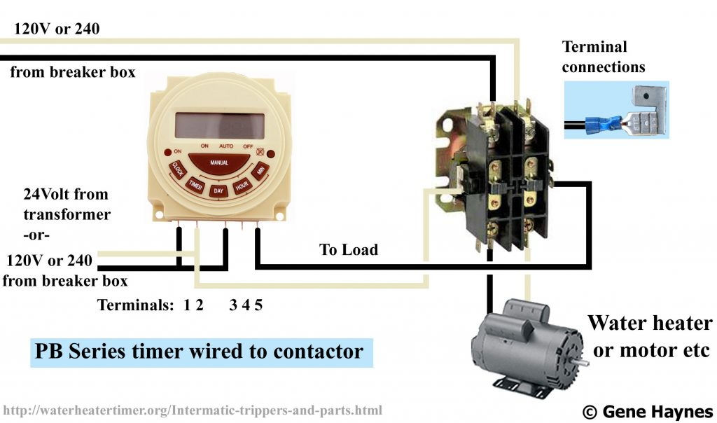 Dc Contactor Wiring