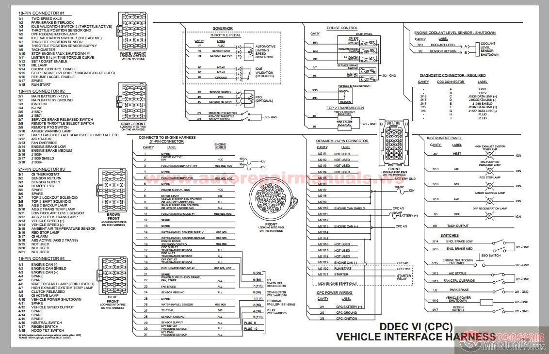 Ddec 3 Ecm Wiring Diagram | Wiring Diagram - Ecm Wiring Diagram