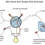 Dead End Single Pole Switches | Jlc Online | Electrical, Electrical   Single Pole Switch Wiring Diagram