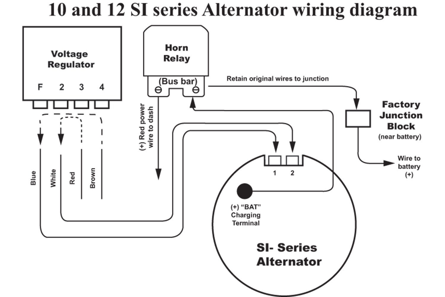 Delco Cs130 Alternator Wiring - Wiring Diagram Description - Toyota Alternator Wiring Diagram