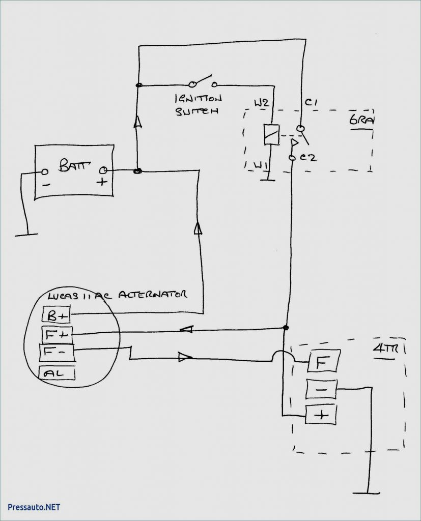 Delco Cs130d Alternator Wiring Diagram For