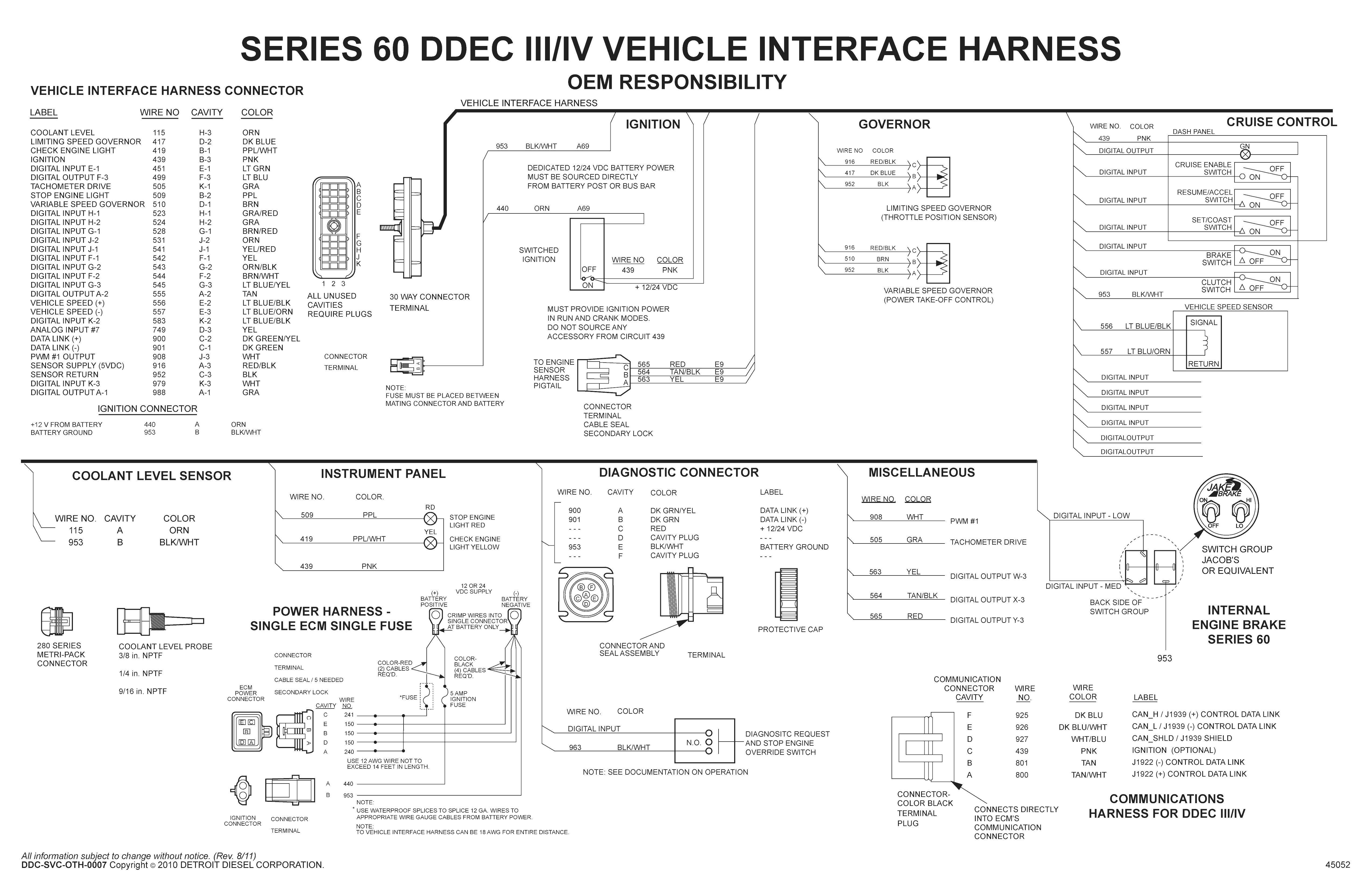 Detroit Diesel Series 60 Ecm Wiring Diagram | Siri 60 | Pinterest - Detroit Series 60 Ecm Wiring Diagram