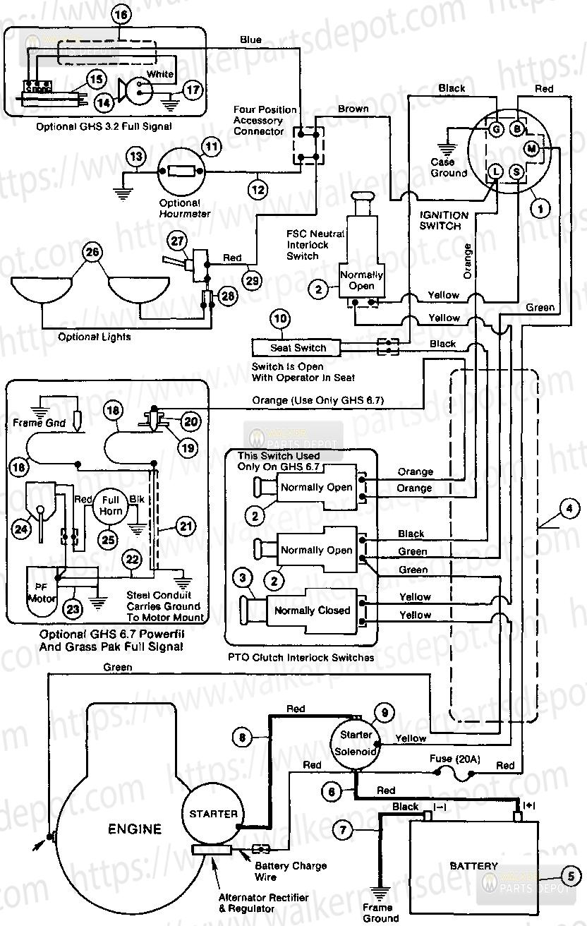 Diagram For Walker - Great Installation Of Wiring Diagram • - Wilson Alternator Wiring Diagram