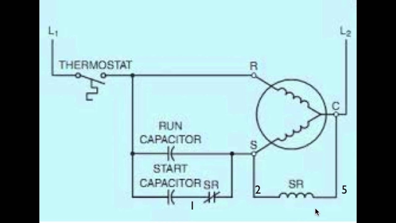 Diagram Of The Potential Relay Part 2 - Youtube - Potential Relay Wiring Diagram