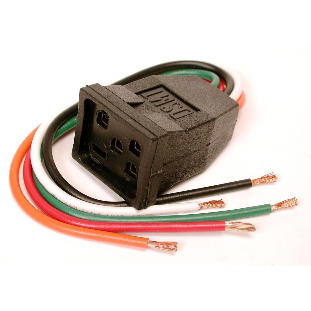 Dial 10 In. Evaporative Cooler Motor Pigtail Receptacle-7584 - The - Swamp Cooler Wiring Diagram