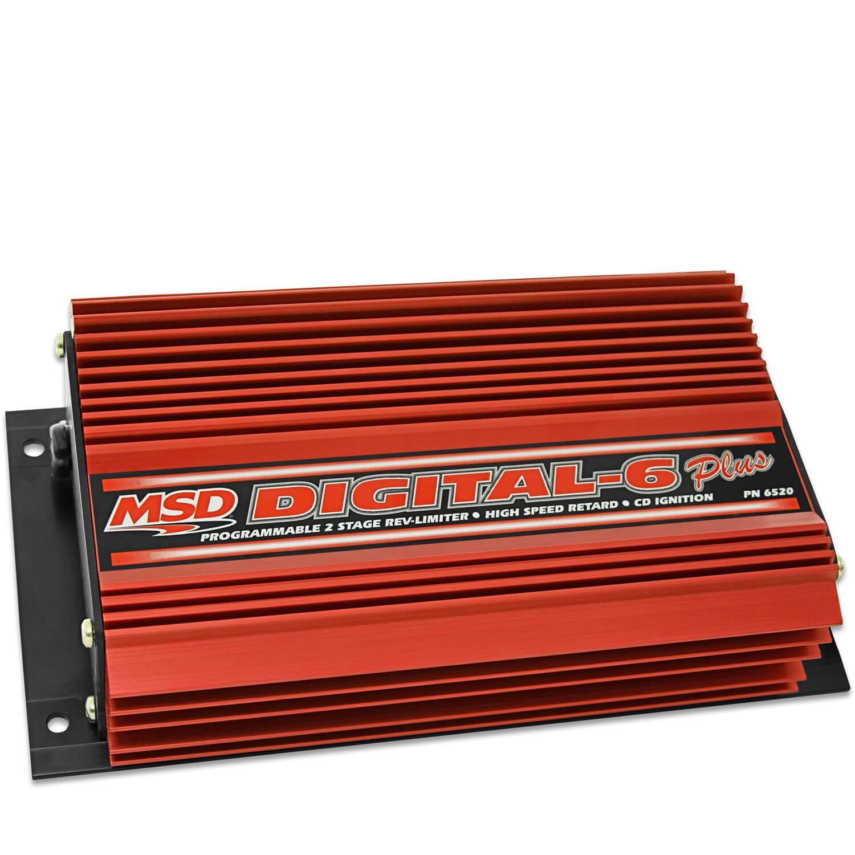 Digital 6-Plus Ignition Control - Msd Digital 6 Plus Wiring Diagram