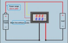 Digital Amp Meter Wiring Diagram | Wiring Library – Digital Volt Amp Meter Wiring Diagram