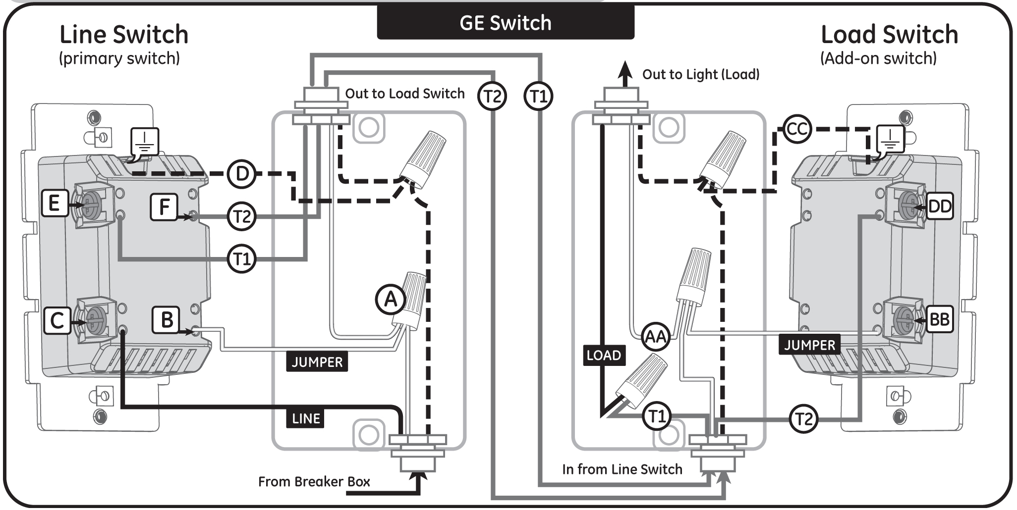 Dimmer Switch 6683 Wiring | Wiring Diagram - Leviton Dimmers Wiring Diagram