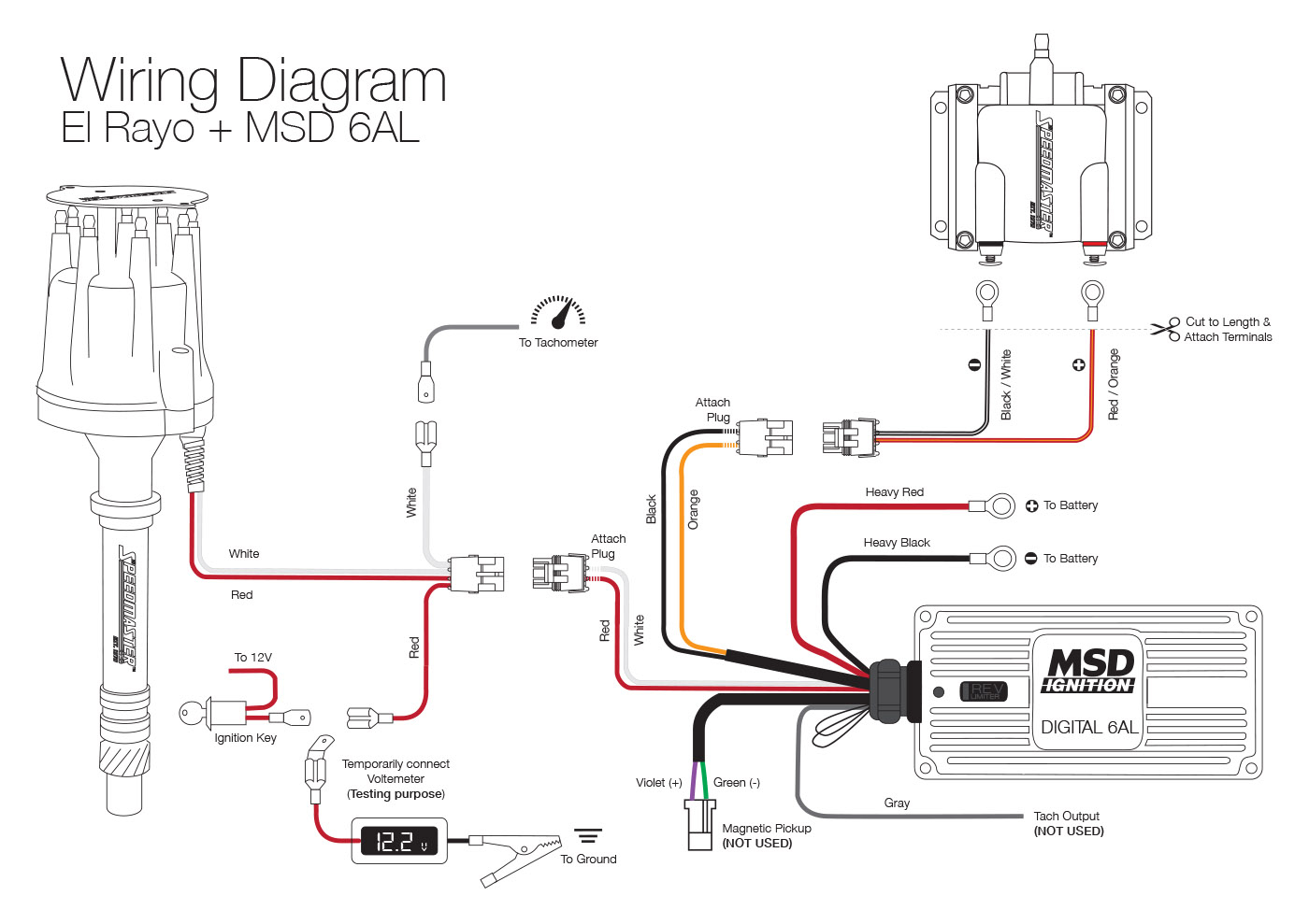 Distributor Wiring Diagram - Data Wiring Diagram Today - Distributor Wiring Diagram