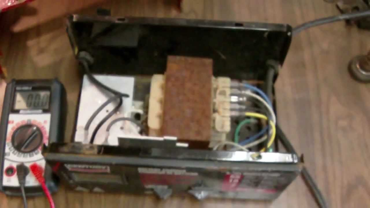 Diy Battery Charger Repair (Thermal Breaker Fix) - Youtube - Century Battery Charger Wiring Diagram