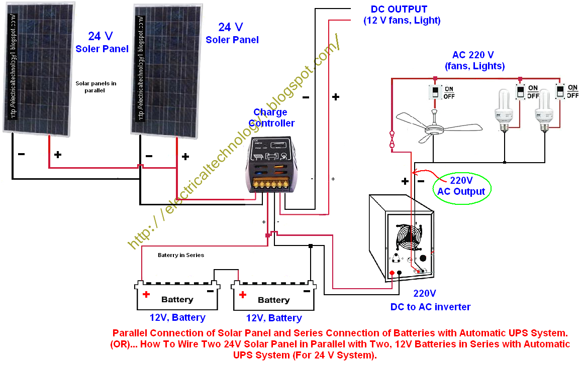 Diy Solar Panel Wiring Diagram To V3 Breaker 001 1024 768 Fair Ups - 12 Volt Wiring Diagram For Lights