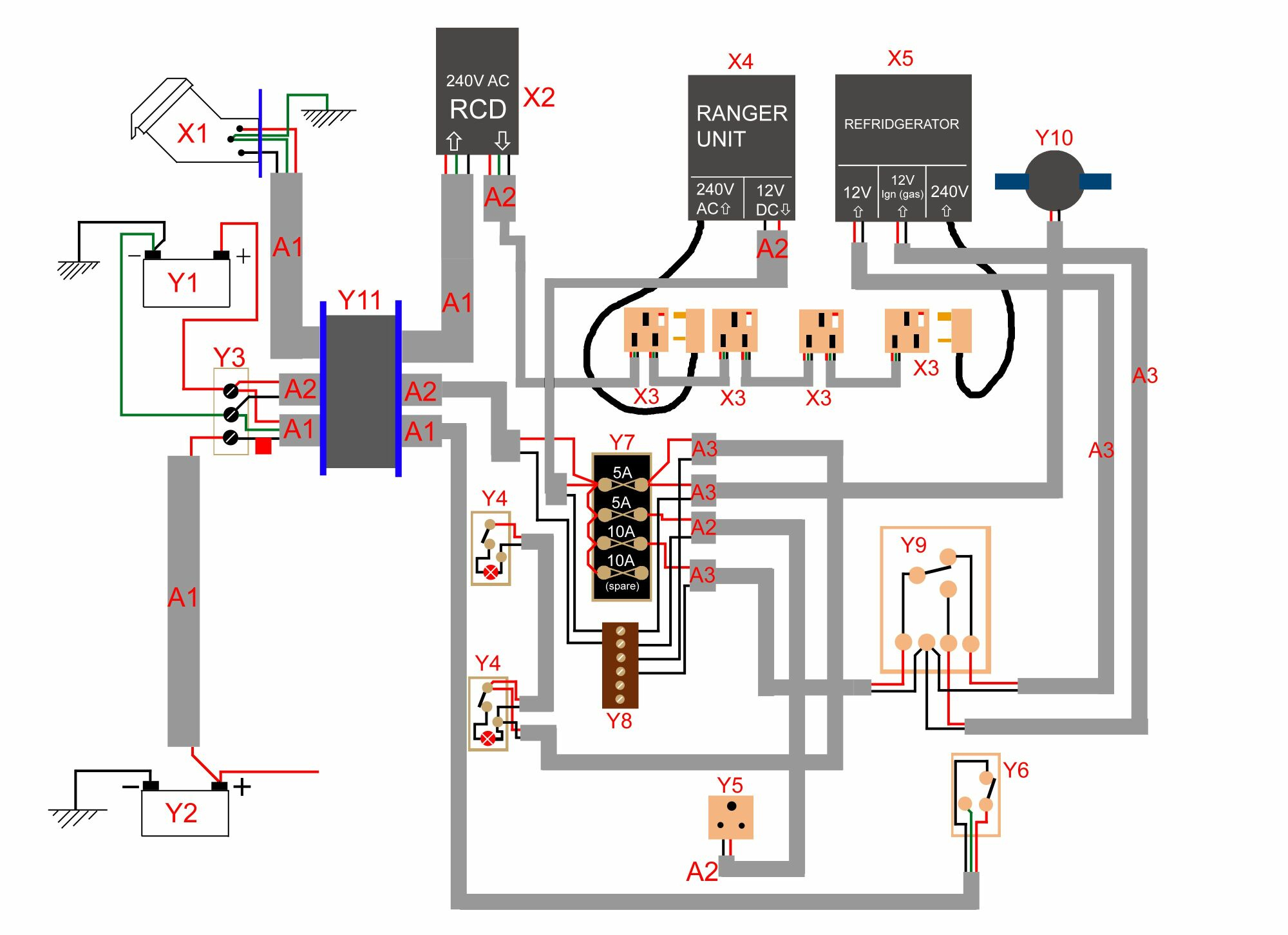 Dometic Thermostat Wiring Diagram 7 Wire | Wiring Diagram - Dometic Thermostat Wiring Diagram