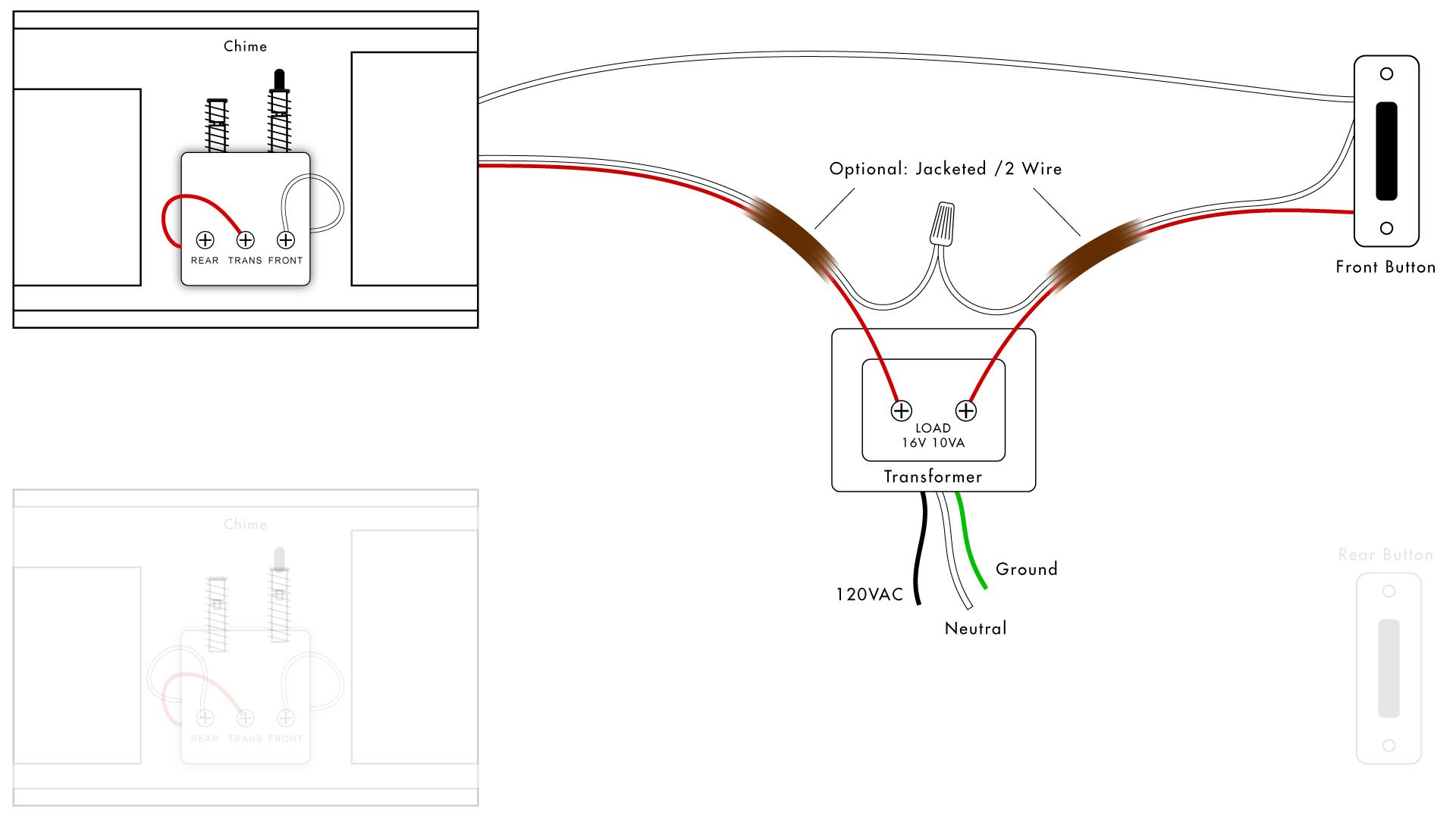 Nutone Doorbell Wiring Diagram | Wiring Diagram