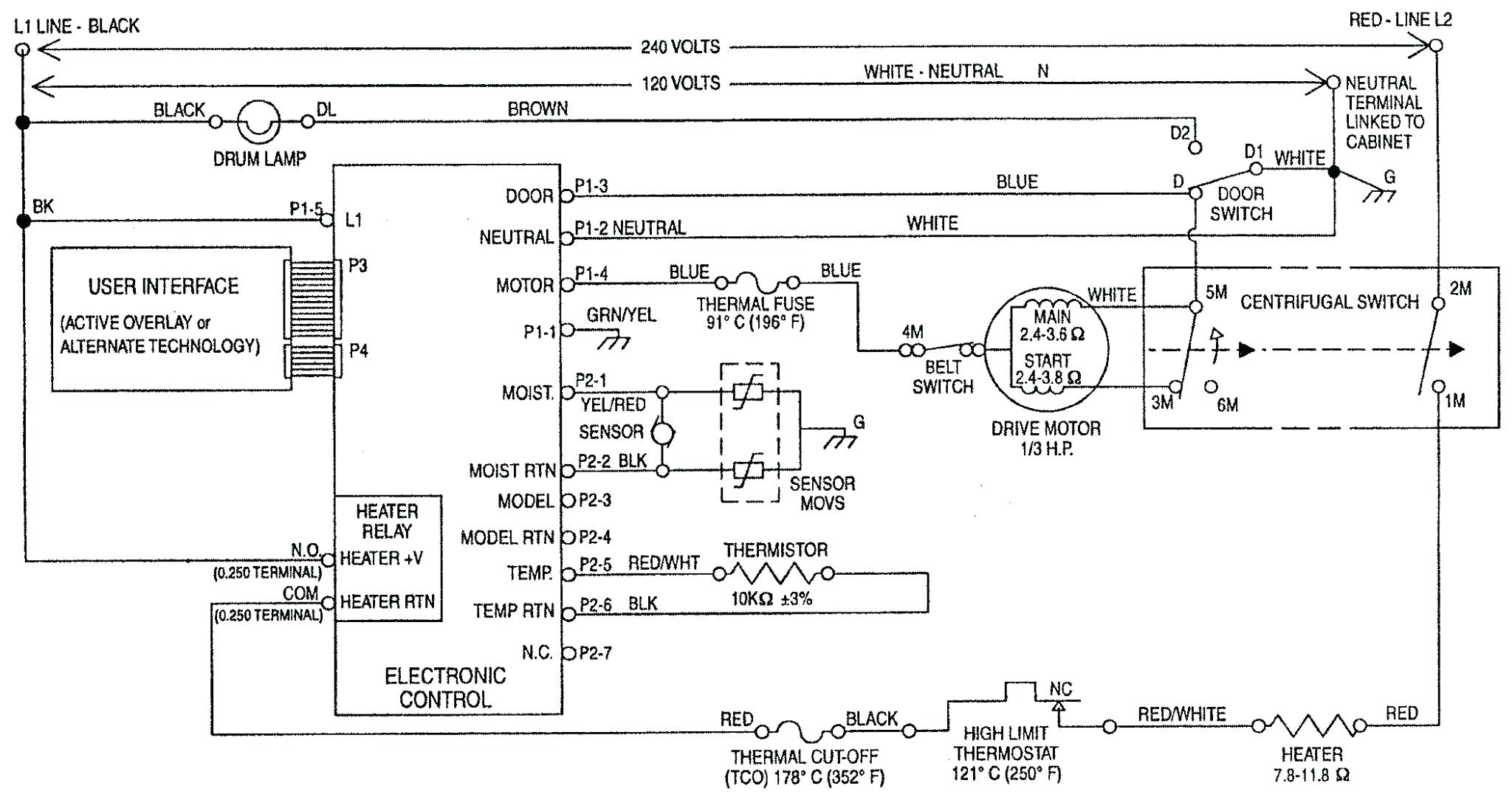 Dryer Wiring Diagram Luxury Ge Motor Agnitum 4 | Hastalavista - Ge Motor Wiring Diagram