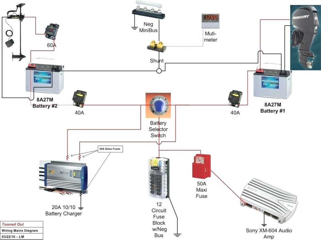 Dual Battery Switch Wiring Diagram - Wiring Diagram - Dual Battery Wiring Diagram